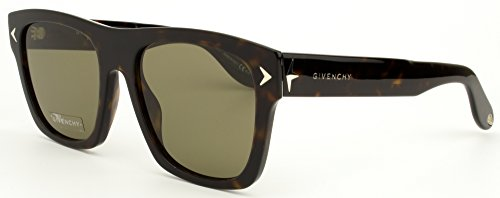 Givenchy - GV 7011/S, Wayfarer, acetato, uomo, DARK HAVANA/BROWN(086/E4), 55/19/150