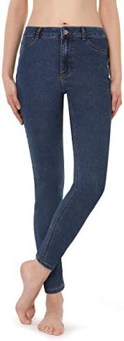 Calzedonia Women's Push-Up And Soft Touch Jeans, XL,