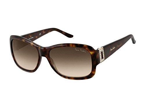 Pierre Cardin Damen P.C. 8355/S SH 086 Sonnenbrille, Braun (Dark Havana/Brown Shaded), 56