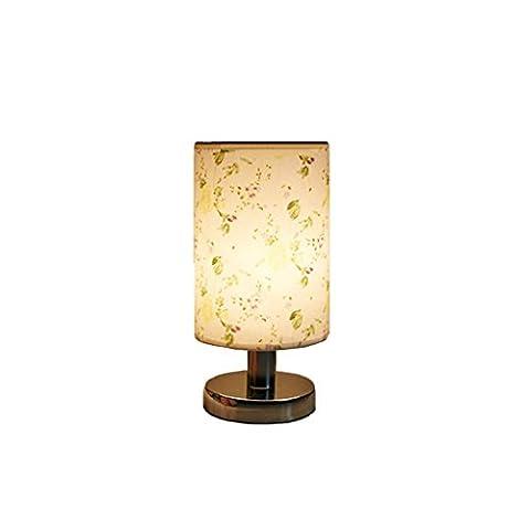 Style Européen Warm Décoration E27 Universal Lampe Lampe De Table, Commoner Chambre Décorative Lampe De Table Petit Style De Fleur