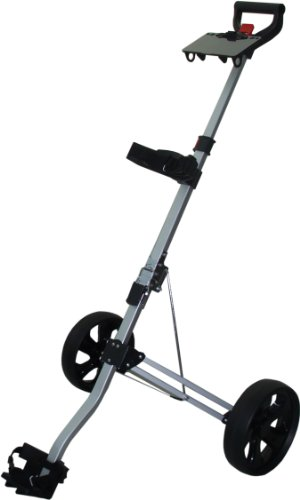 Longridge Golf-Trolley zum Ziehen Micro Cart (Golf-tees-adjustable)
