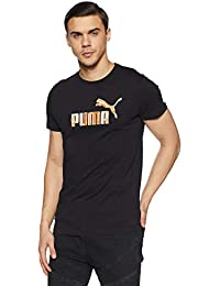 Puma Men's Solid Regular Fit T-Shirt