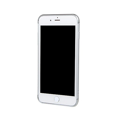 """xhorizon TM FM8 3 in 1 Ultra Thin Hard Protective Stylish Case Case for iPhone 7 Plus [5.5""""] with 360 Degree Rotating Ring Kickstand with a 9H Tempered Glass Film Silber+9H Tempered Glass Film"""