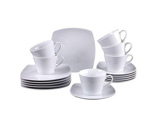 vivo Villeroy & Boch Group 19-5261-7126 Simply Fresh Kaffeeset 18 teilig Geschirrsets, Porzellan,...