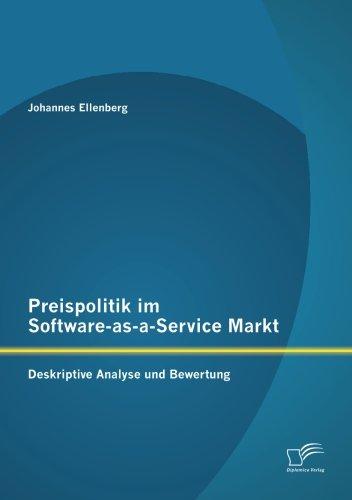 Preispolitik im Software-as-a-Service Markt: Deskriptive Analyse und Bewertung