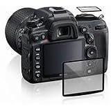 GGS/Maxsimafoto Film protecteur d'écran anti-chocs et anti-rayures pour Nikon D600 Transparent
