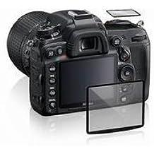 Maxsimafoto - Protector de pantalla LCD para Canon 5D3 5DS y 5DS R - gran transparencia, anti-antiarañazos, anti-bump. Incluye chaqueta de pantalla.