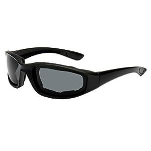 Anti-Glare Motorrad Radsportbrille selbsttönend,TriLance Polarisierte Nachtfahrbrille Herren und Damen im Freien Reitbrille Skibrille CS Taktische Sonnenbrille Sport Schwamm Sonnenbrille