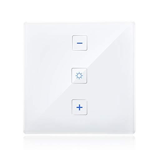 230V Intelligente ZigBee 3.0-Wandleuchte Dimmer Kompatibel mit Echo Plus und ZigBee Hub/Bridge -