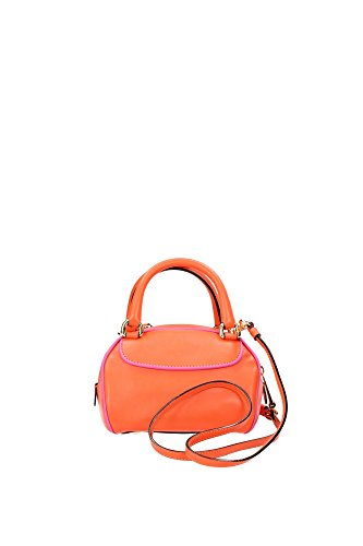 2A749280012064 Moschino Sac à main Femme Cuir Orange Orange