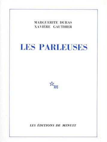 Les Parleuses par Marguerite Duras