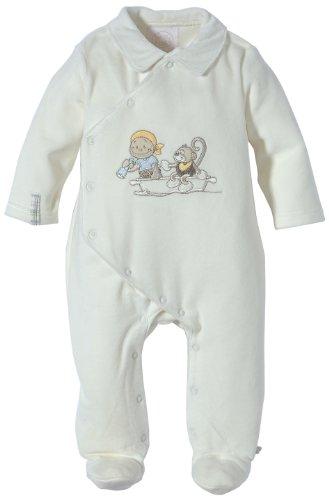 Noukies BB1270131, Pyjama Bébé garçon, Blanc, 56