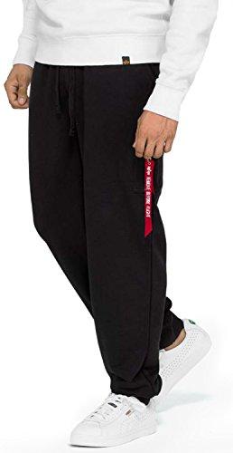 Alpha Industries Herren Jogginghose X-Fit Loose schwarz 2XL Street Sport Jogger
