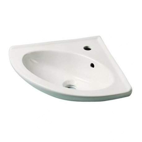 LAVABO RINCONERA (PORCELANA)  COLOR BLANCO