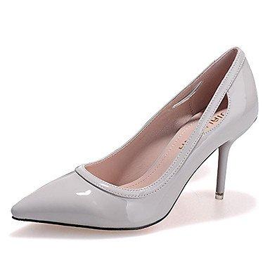 Moda Donna Sandali Sexy donna caduta tacchi Comfort brevetto Casual in pelle Stiletto Heel altri nero / rosa / Grigio / Fucsia Altri Pink