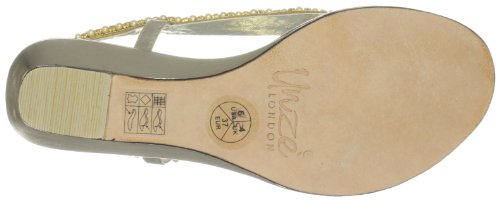 Unze Evening Sandals, Sandali donna Oro (Gold (L18290W))