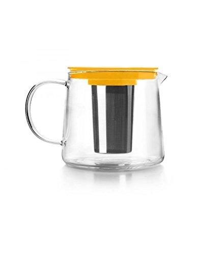 IBILI Kristall Caldera de té con Filtro, 1000ML, 30x 13x 12cm