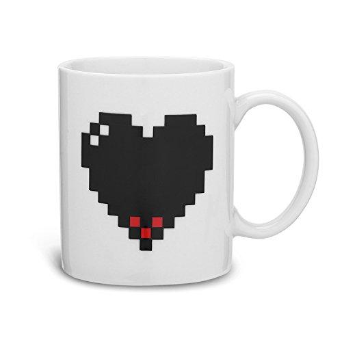 Tazas de videojuegos: Corazón