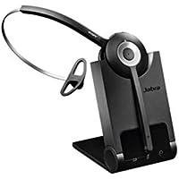 Jabra Pro 920 Mono nutzerfreundliches DECT-Office-Headset für Festnetztelefone, hohe Reichweite, Geräuschunterdrückung, Ladeschale inkl.