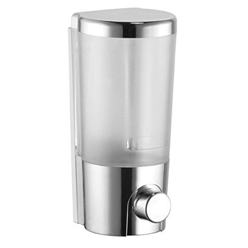 Goonj Coral Liquid Soap Dispenser,Chrome