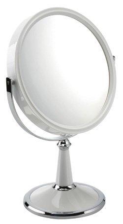 FMG Mirrors - Miroir sur pied grossissant x10 - Blanc