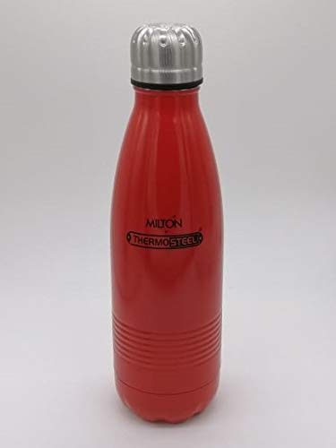 Milton Thermosteel Duo DLX 500ml Insulated Steel Bottle - Cherryred