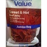 Great Value Jumbo Bag Sweet & Hot Beef Jerky 6.2 oz by Wal-Mart Stores, Inc.