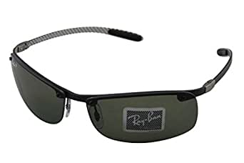 Ray-Ban Rb8305 Rectangular Polarized Sunglasses 64.4 mm