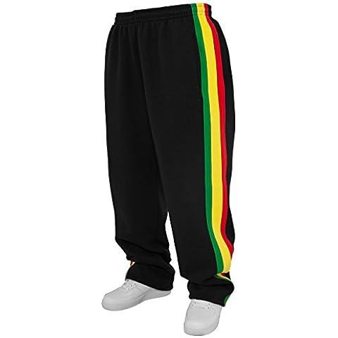 Urban Classics Rasta Sweatpants Di formazione Pants Nero