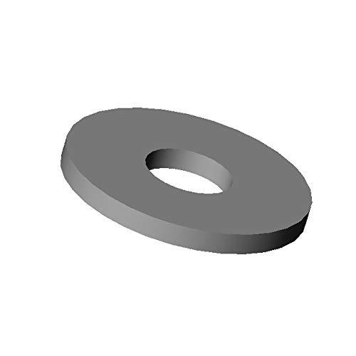 Ajile - 100 unidades - Arandelas standard en nylon para tornillos diam....