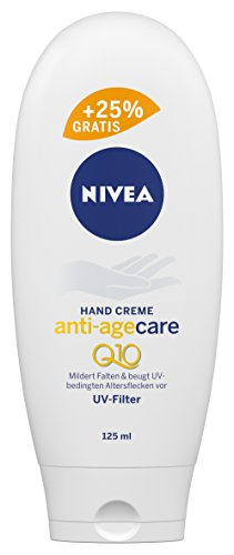 Nivea Anti-Age Care Q10 Anti-Falten Hand Creme, 4er Pack (4 x 100 ml + 25 ml)