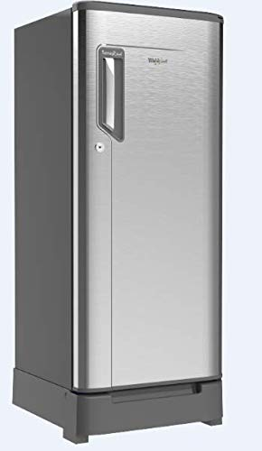 Whirlpool 215 L 4 Star Direct-Cool One-Door Refrigerator (230 IMFRESH ROY 4S, German Steel)
