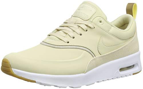 meilleur site web 2f2cd bf48d Nike Air Max Thea Premium, Sneakers Basses Femme, Beige/Braun, 42 EU