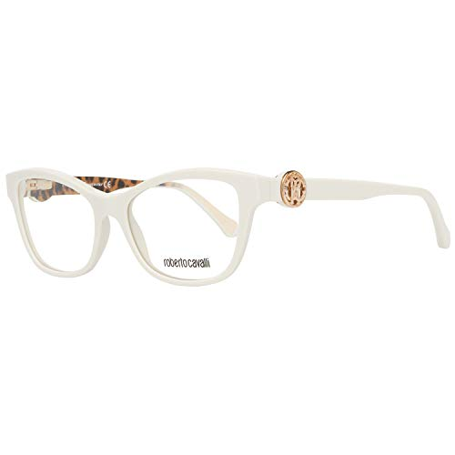 Roberto Cavalli Unisex-Erwachsene RC5048 Sonnenbrille, Weiß (Bianco), 52.0
