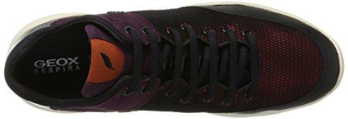 Geox Herren D Sfinge A Sneaker Marciume (ciliegia)