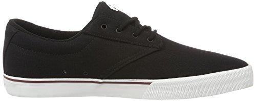 Etnies Herren Jameson Vulc Sneaker, Schwarz Schwarz (Schwarz/Weiß)