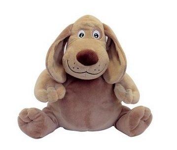 Cooper Wärmflasche aus Plüsch, Filou der Hund – Weizenkörner