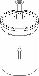 Topran Filtre à carburant, 104 134