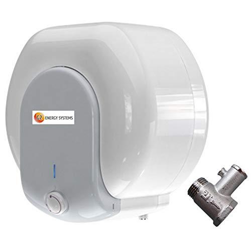 10 15 L Liter druckfester Elektro Warmwasserspeicher, Übertisch, Untertisch, Boiler, Kleinspeicher, elektrisch