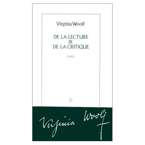 De la lecture & De la critique