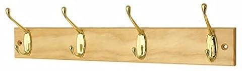 Headbourne hr0824h Türgarderobe Chrom mit Fixer 4Haken Doppel