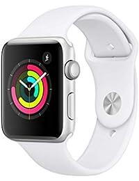 Apple Watch Series 3 Reloj Inteligente Plata OLED GPS (satélite) - Relojes Inteligentes (OLED, Pantalla táctil, GPS (satélite), 18 h, 32,3 g, Plata)