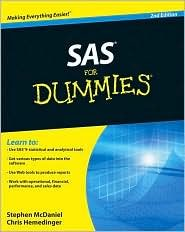 SAS For Dummies 2nd (second) edition