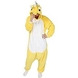 Cosplay Disfraz Unicornio Pijama Animal Entero Kigurumis para Carnaval Ropa de Dormir Invierno Trajes de Pijama Unisex Halloween Regalo de Cumpleaños Navidad Fiesta-LATH.PIN