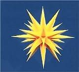 Weihnachtsstern, Adventsstern, original Herrnhut, für Außen, Kunststoff, 40 cm, Stern, Sterne, Weihnachtssterne, Adventssterne, original Herrnhuter Stern, gelb