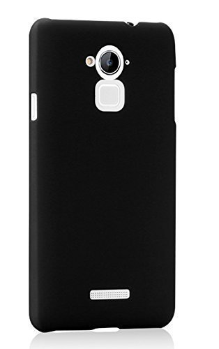 Wow Imagine Rubberised Matte Hard Case Back Cover For Coolpad Note 3 / Coolpad Note 3 Plus, Black