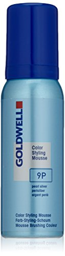 Goldwell Colorance Styling Mousse 9P, perlsilber, 2er Pack, (2x 0,075 L) -