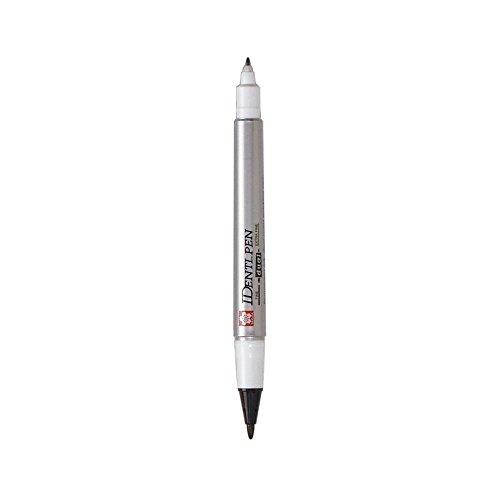 Identi-Pen,Fine/Extra-Fine Tips,Waterproof,Low-odor,Black, Sold as 1 Each (Identi-pen)