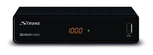 STRONG SRT 3001 HD Kabel Receiver - DVBC - für digitale frei empfangbare Kabelsender - schwarz