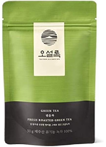 Osulloc Dukgum Cha From Jeju 50g Korean Green Tea Amazon Co Uk Grocery